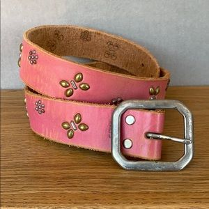 Jeff Gallea Leather Belt - 38 inches